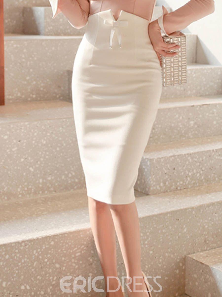 50b90e87198df8 Ericdress Bodycon Plain Women's Skirt 13117290 - Ericdress.com ...