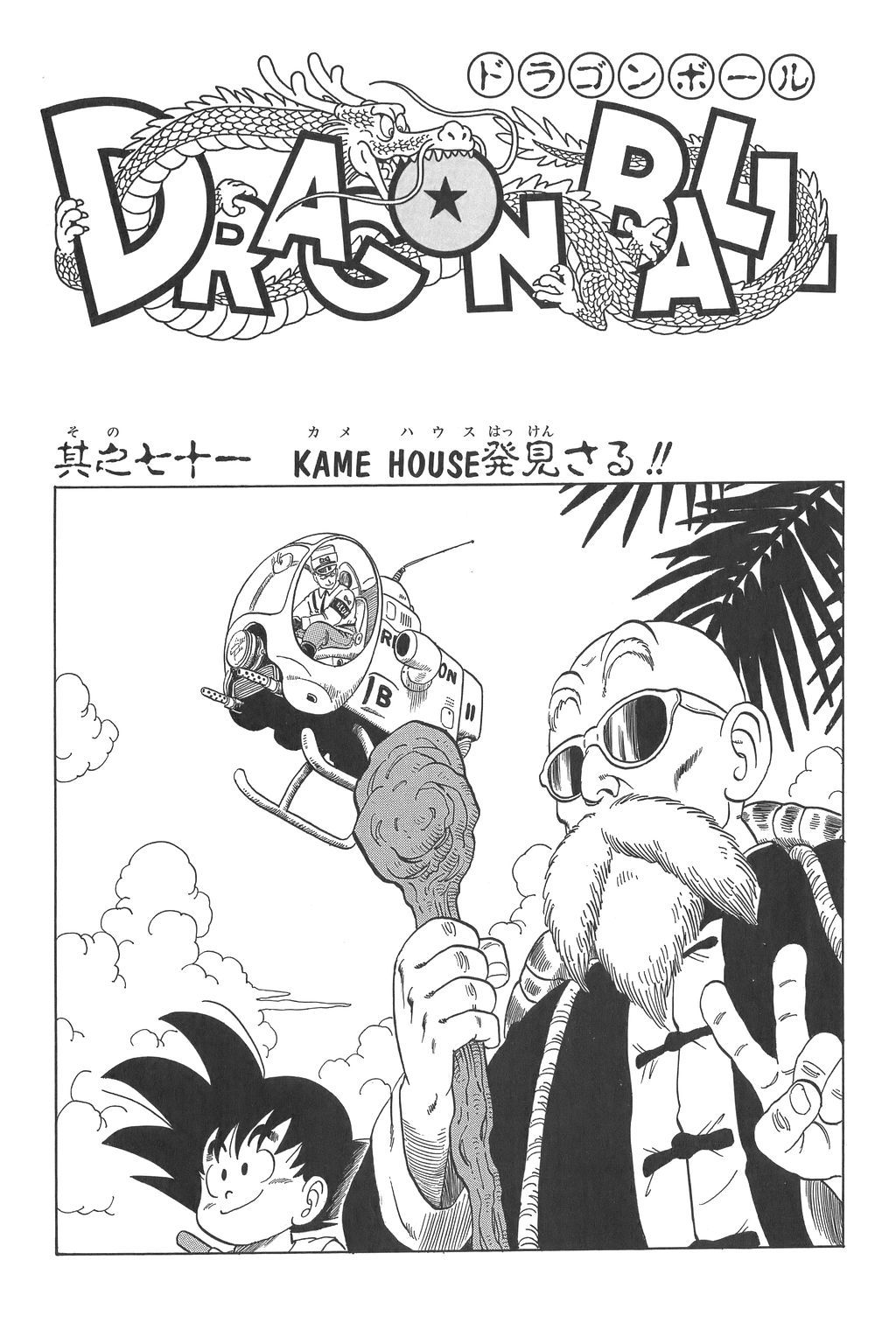 The Turtle is Spotted! in 2020 Dragon ball art, Dragon