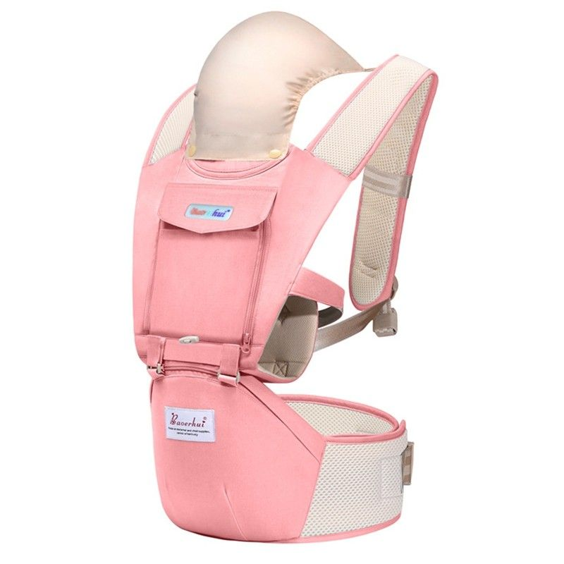 Baoerhui 6128 Multi Function Breathable Baby Carrier With Waist Stool Pink 5w47386312 Baby Carrier Baby Wearing Diy Backpack Carrier