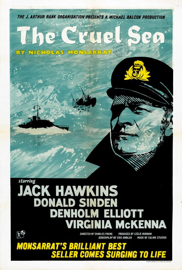 Image result for the cruel sea film 1953