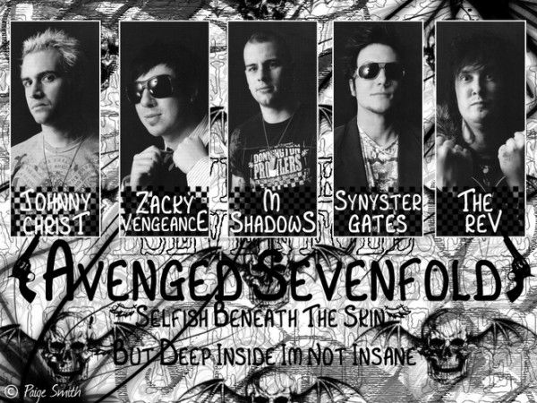 Avenged Sevenfold Names 600x450 Avenged Sevenfold Names With