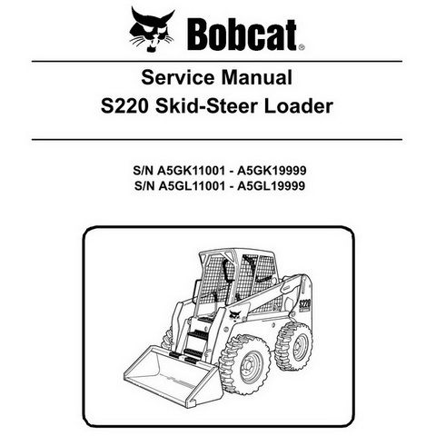 Part Number # 6570008 Bobcat 943 Skid Steer Complete Shop Service Manual