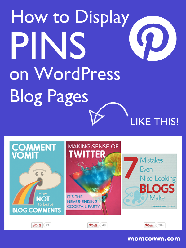 How to Display Pins on Blog Pages in WordPress | Blog & Social Media ...