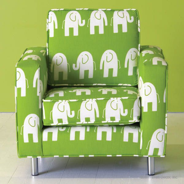 Yes Yes Yiggety Yes! Kids #elephant Chair From Bratt Decor Used The Same  Fabric