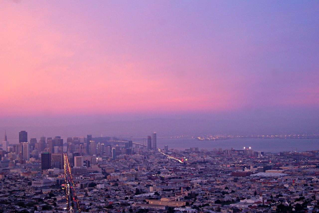 {san francisco sunset} twin peaks san francisco in 2020
