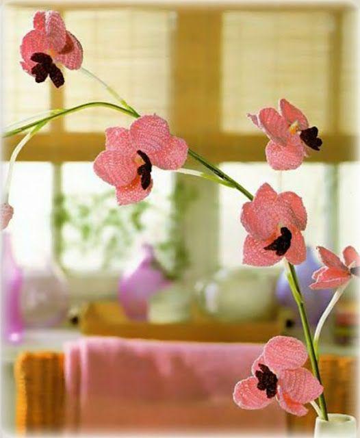 Orchidee Hakeln Anleitung Orchids Chrochet Pattern Blumen Hakeln Anleitung Kostenlos Blumen Hakeln Anleitung Amigurumi Anleitung Kostenlos