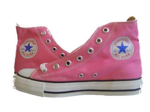i love pink converse