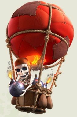 Balloon Skeleton Clash Of Clans Pinterest Clash Of Clans