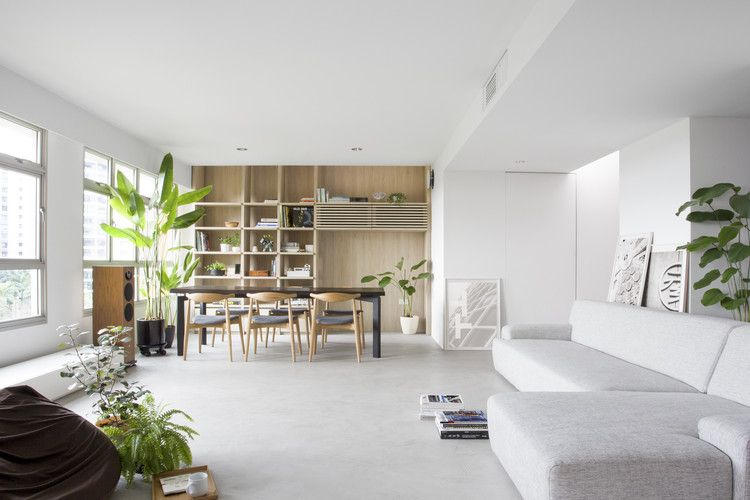 Gallery of house in a flat nitton architects 8 in 2018 living