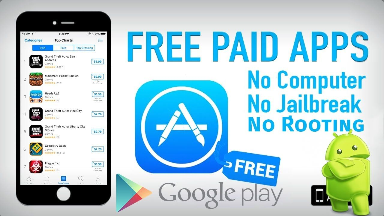 This is How To Get Any Paid iPhone/iPad/Android Apps for Free without needing to jailbreak or root your device   -----------------------------------------------------------------------   Download link : http://viid.me/94C1A  SoftwareWebSite : http://viid.me/94VBf -----------------------------------------------------------------------   Get in touch with us at    Website | http://ift.tt/2b6QKqL  Facebook | http://ift.tt/2ecU2ry  Instagram | http://ift.tt/2fhzpyt  Twitter…