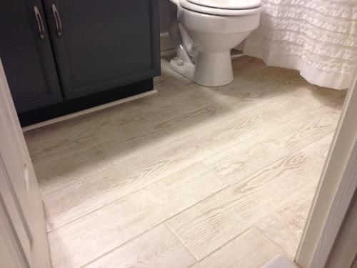 Perfect MARAZZI Montagna White Wash 6 in. x 24 in. Glazed Porcelain Floor  VO03