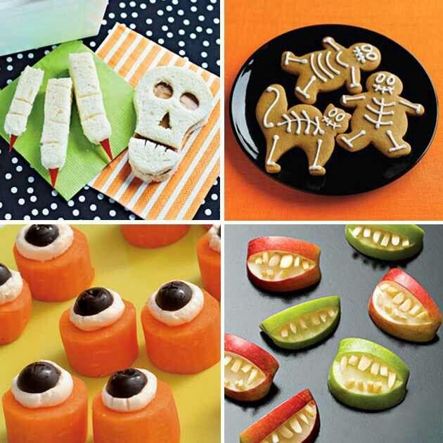 Halloween snacks Kindergarten snacks Pinterest Fall harvest - halloween party food ideas for kids
