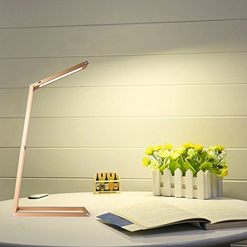 Arino Led Foldable Desk Lamp Eye Care Reading Lamp 5w Table Lamp Bedroom Lamp Touch Sensitive Control Rechargeable Lamp Bedroom Lamps Lamp Eye Lamp