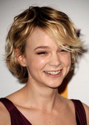 Pictures Photos Of Carey Mulligan Hair Styles Short Hair Styles Damp Hair Styles