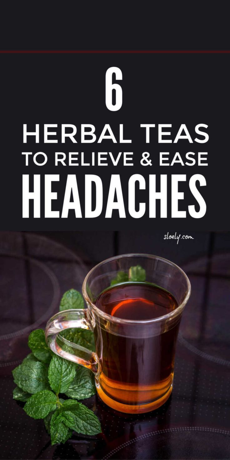 Herbal Teas For Natural Headache Relief in 2020 | Natural ...