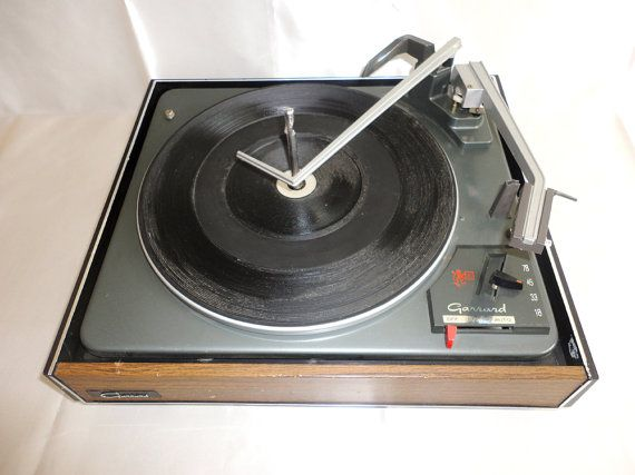 Rare GARRARD Turntable Record Player Automatic Made in