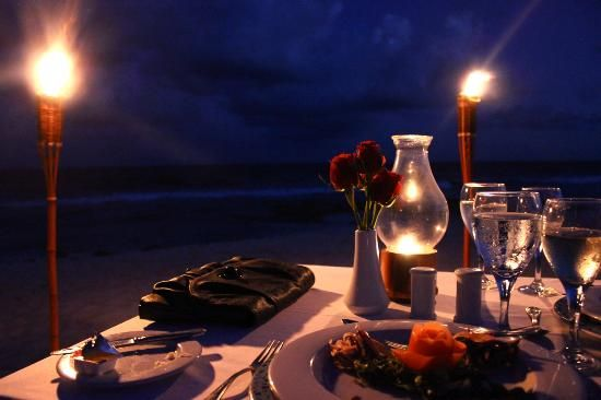Valentin Imperial Maya #romantic dinner