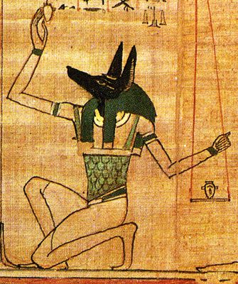 Anpu Anubis Protector Of Tombs Inventor And Patron Of