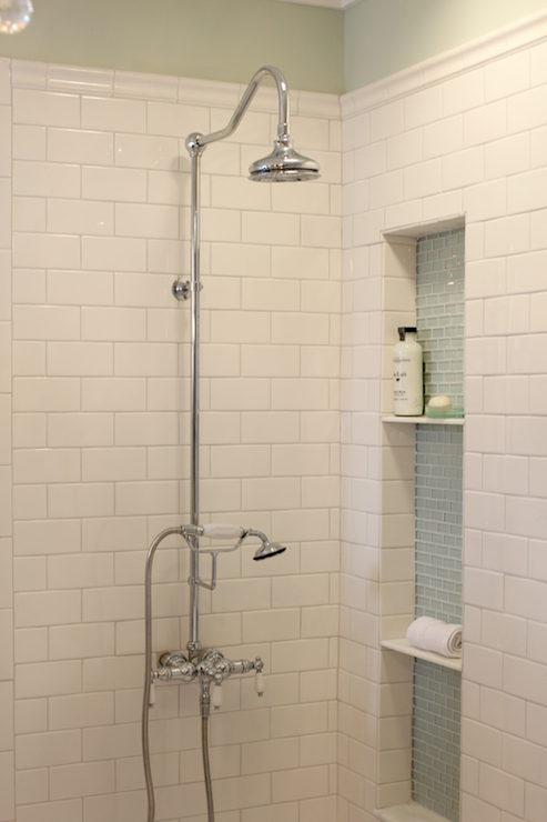 Classic Shower Fixture Classics Shower Design Subway Tileshower Desig