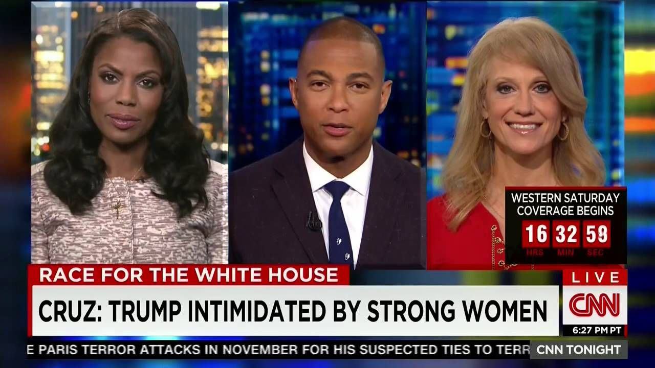 Don Lemon v Omarosa CNN 03252016 Donald trump campaign