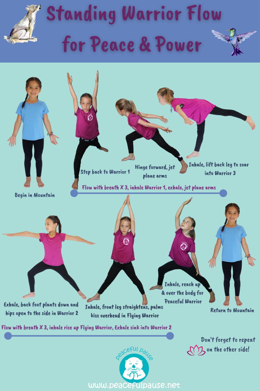 33+ Warrior 1 2 3 yoga pose ideas