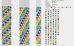 Мобильный LiveInternet Схемы для толстых бисерных жгутов   Петля_Мебиуса - Дневник Петля_Мебиуса  