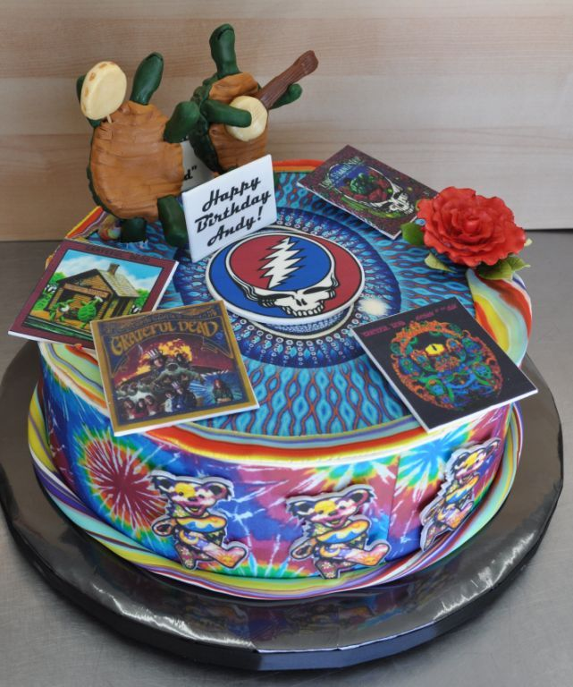 Terrapin Station Grateful Dead Cake