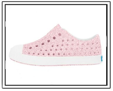 72e7aa4d08f1f Native Jefferson Shoes-Milk Pink Bling-native milk pink glitter bling shoes