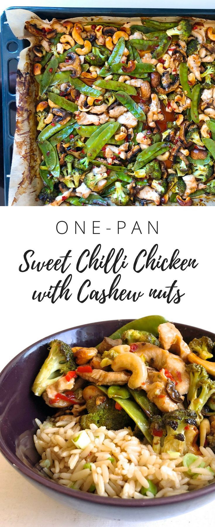 One-pan Sweet Chilli Chicken with Cashew Nuts images
