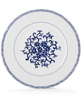 Lauren Ralph Dinnerware Mandarin Blue Collection