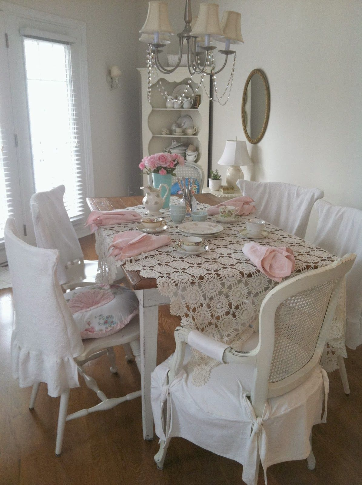 Shabby Chic Muebles Lulu 39s Tea Party Simple Table Setting