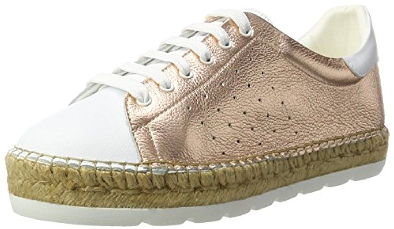 Chaussures Macarena beiges Casual femme d391n