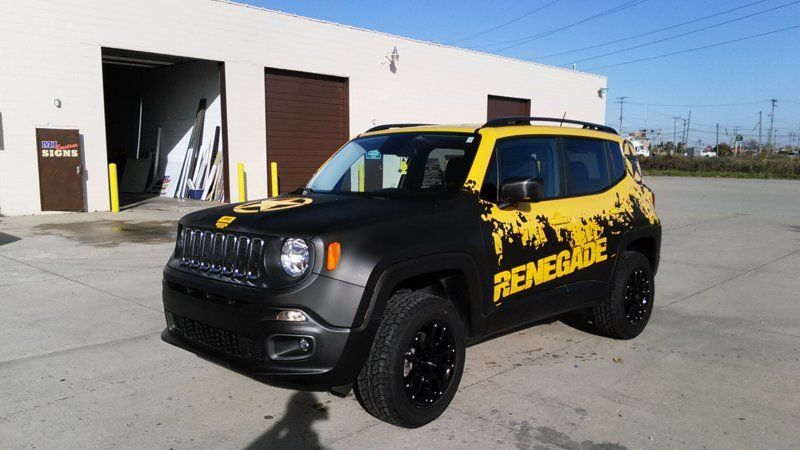 Bildergebnis Fur Jeep Renegade Wrapping Jeep Renegade Jeep