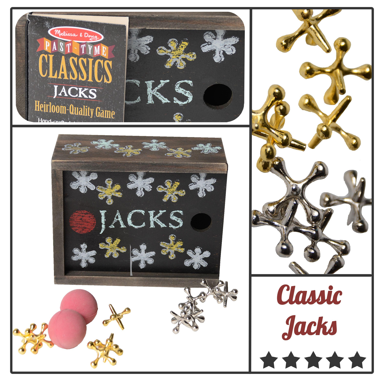 Classic jacks jacks vintage kids fun games vintage