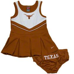 Texas Longhorns Nike Infant Cheerleader Set, thinking of this pattern for  SHSU
