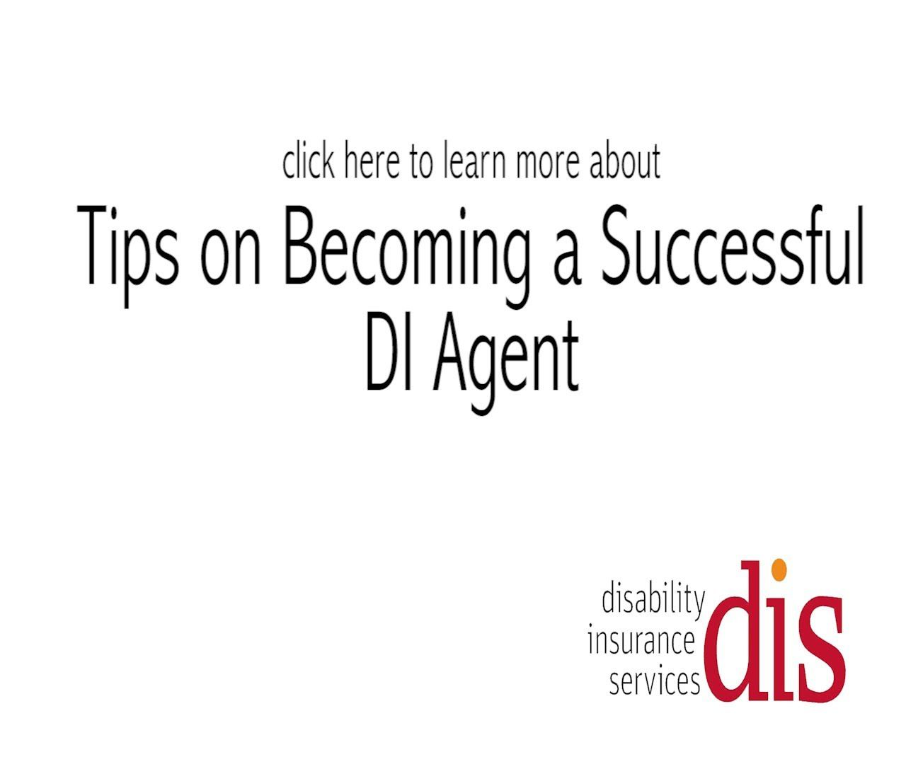 Tips On Becoming A Successful Disability Insurance Agent With Dan