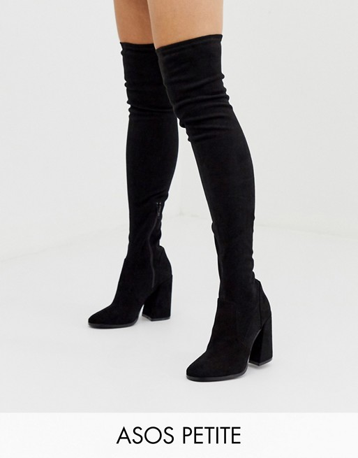 ASOS DESIGN Petite Korey heeled thigh