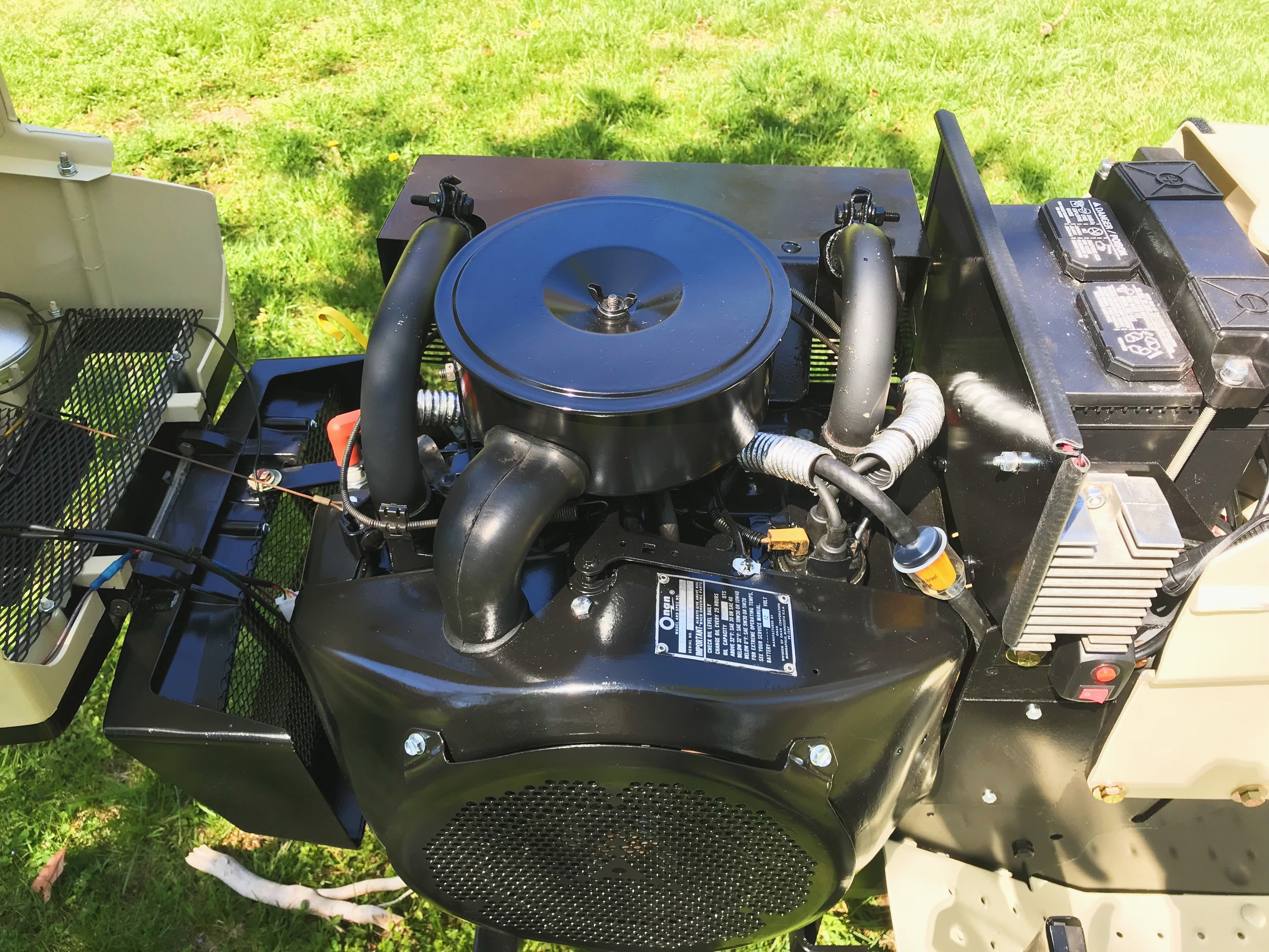 I Restored This Onan B Engine March 2018 Garden Tractor Vw Rabbit Tractors