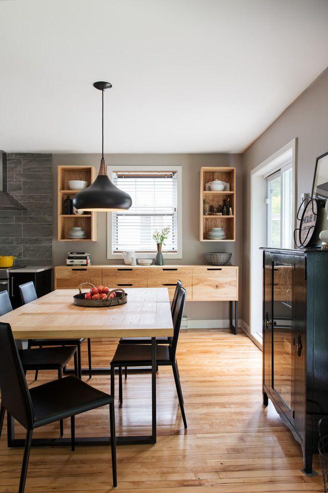 Contemporary Dining Room By Kim Lapointe Interior Designer