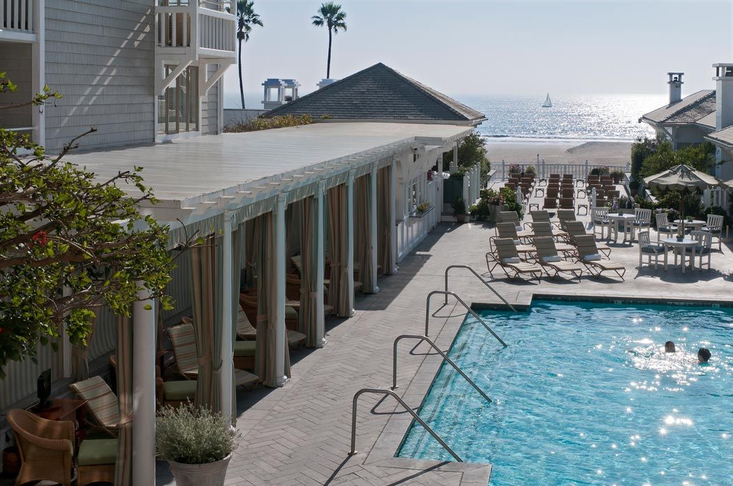 Pool Cabana Area At Shutter On The Beach Hotel Ocean In Santa Monica Ca Cool Place To Stay