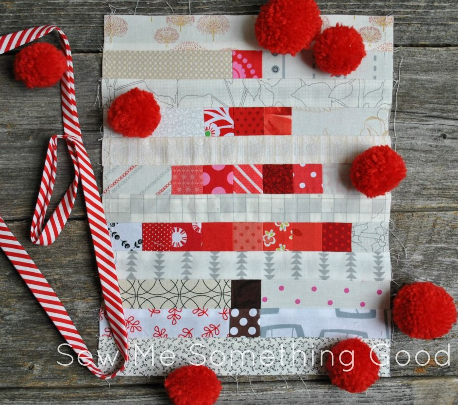 Mini & Scrappy tree blocks from Sew Me Something Good