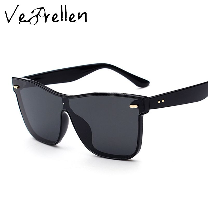 09ff27abd8a VeBrellen Sunglasses Men Women Luxury Brand Polarized Fashion Sunglasses  Square Mirror Sun Glasses Shades Glasses UV400