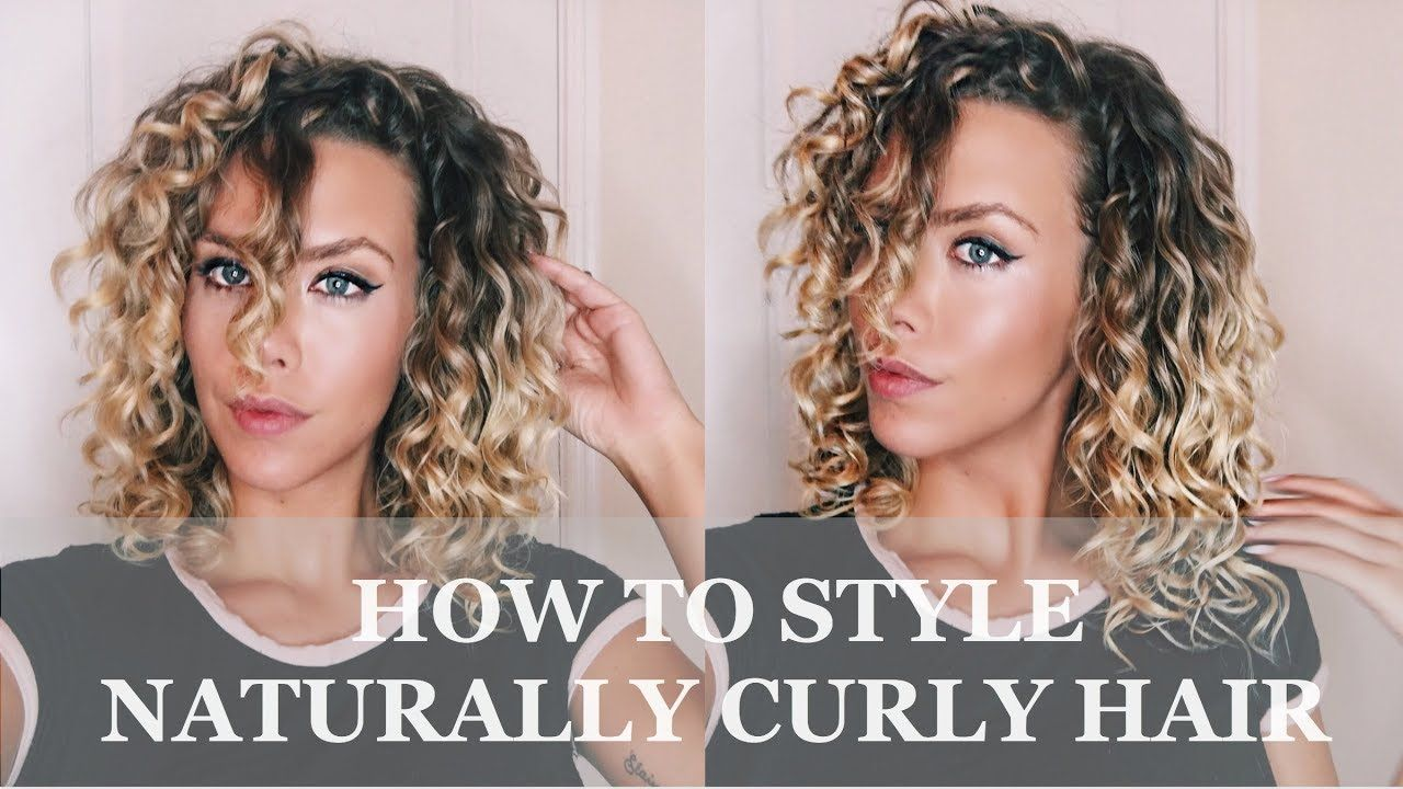 How To Style Naturally Curly Hair Pinjessica Wallin On Hair  Pinterest  Curly Hair Tutorial