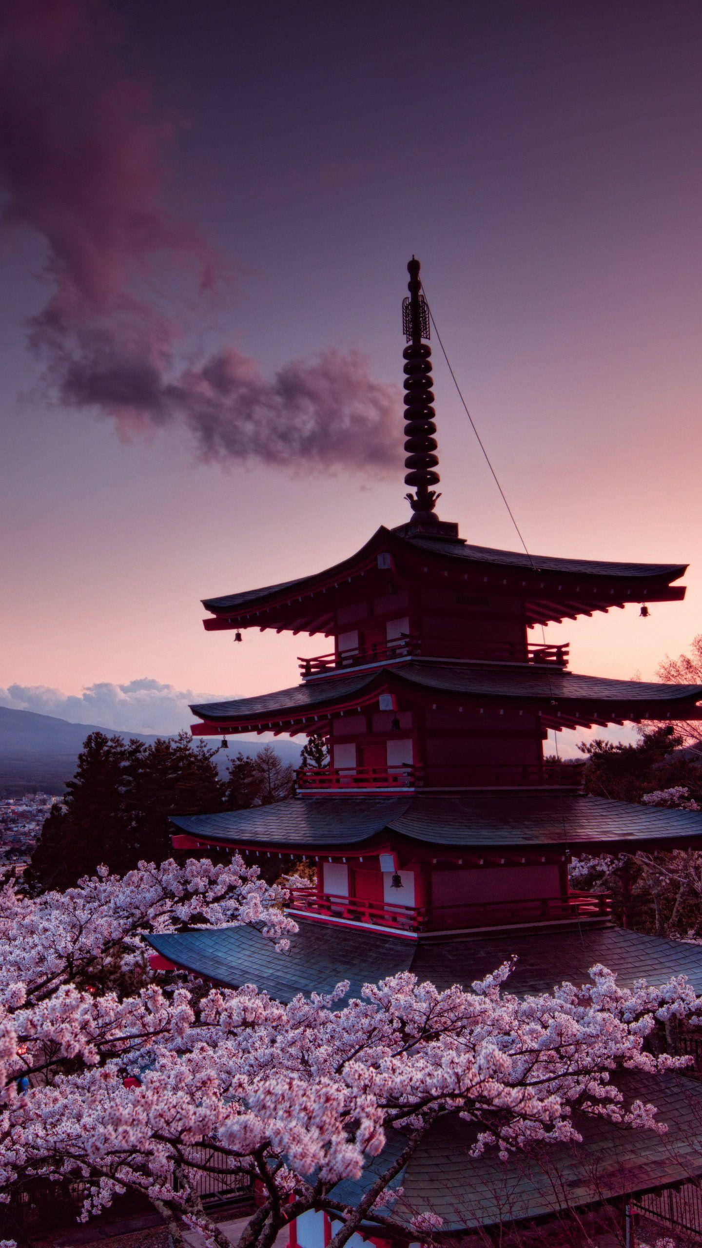 Churei Tower Mount Fuji In Japan 8k Hd Wallpaper 1440x2560 In 2020 Hd Nature Wallpapers Iphone Wallpaper Japan Iphone Wallpaper Stills