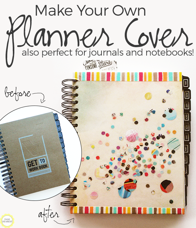 Make your own notebook cover or planner cover planners for Design my own planner