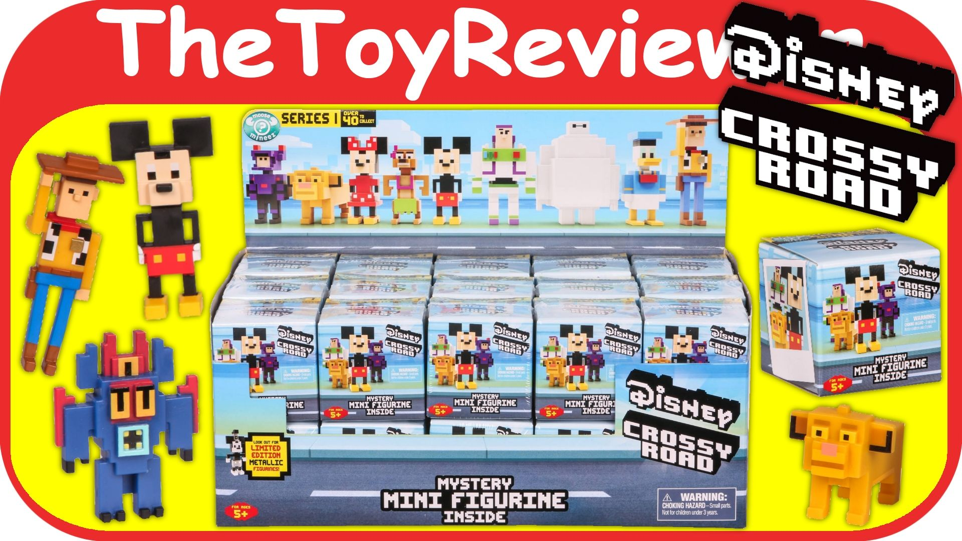 Check out the Full Case of Disney Crossy Road Mystery Mini Figurine Blind Boxes here:  https://www.youtube.com/watch?v=yTB-8o21pwo