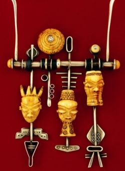 Wearable Art Jewelry, Inspiring Jewelry Artists #wearableart