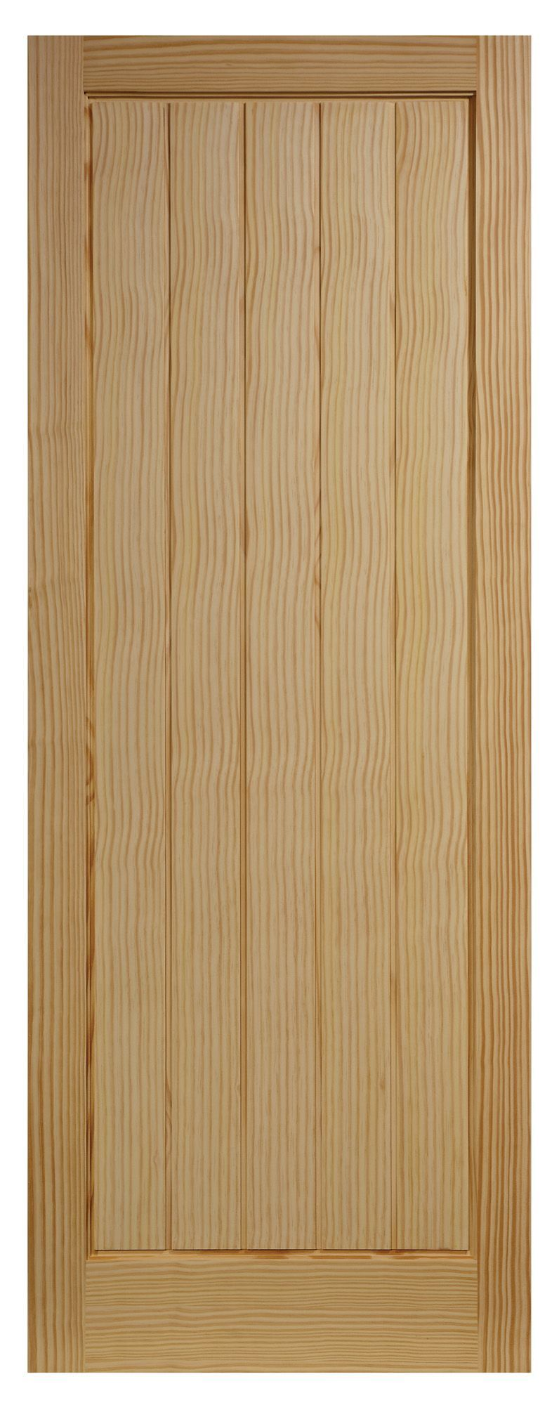 Cottage Panelled Clear Pine Internal Door, (H)1981mm (W)762mm   Departments   DIY at B&Q