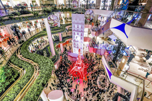 Galeries Lafayette Shanghai Opens With Three Week Long Festival Inside Retail In 2020 Parisian Landmarks Galeries Lafayette Romantic Paris