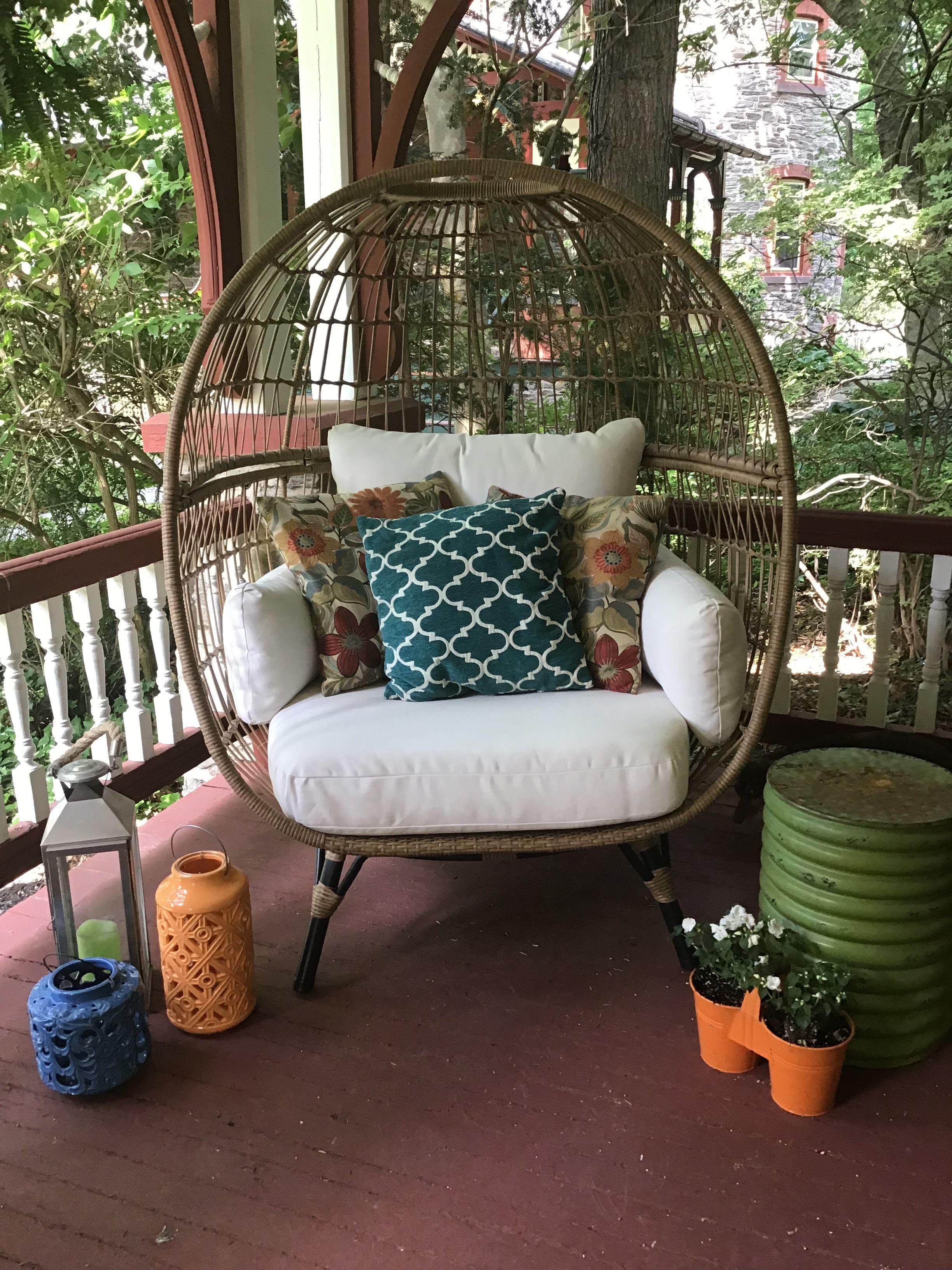 southport patio egg chair  opalhouse™  chair restaurant